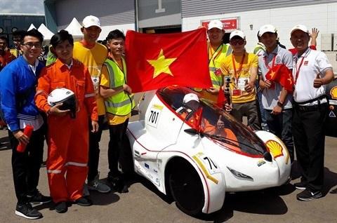 Universite Lac Hong, champion du Shell Eco Marathon Asia 2018 hinh anh 1