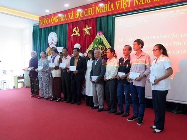 A Da Nang, hommage aux soldats vietnamiens tombes a Gac Ma hinh anh 2