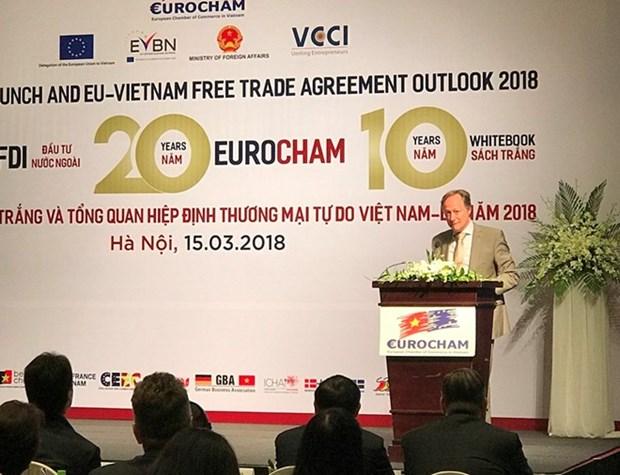 EuroCham publie la 10eme edition du livre blanc a Hanoi hinh anh 1