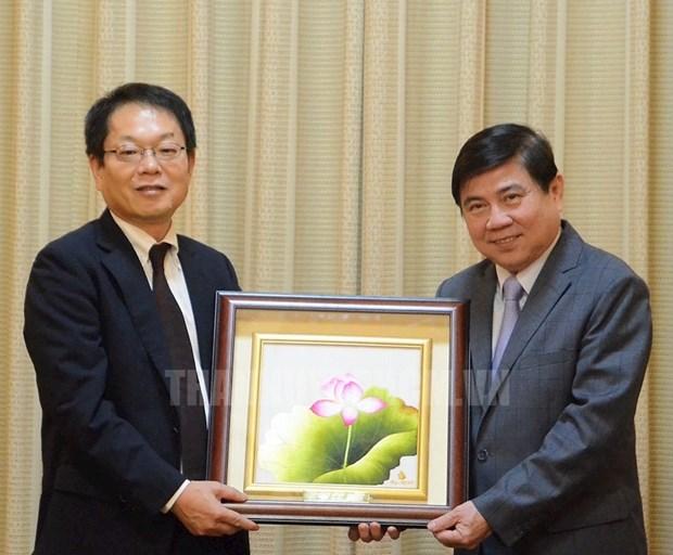 Ho Chi Minh-Ville propose a la JICA de soutenir ses projets cles hinh anh 1
