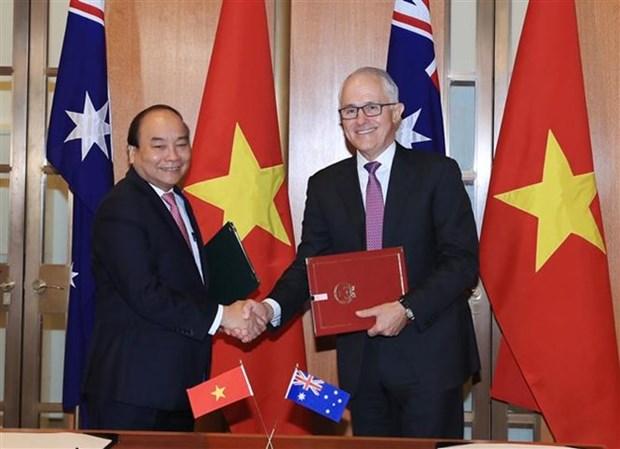 La presse australienne couvre la visite officielle du PM Nguyen Xuan Phuc hinh anh 1