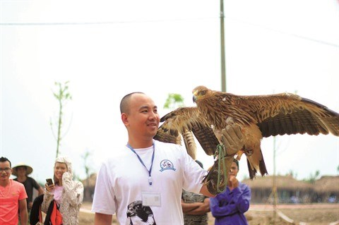 La fauconnerie fait des emules a Ho Chi Minh-Ville hinh anh 1