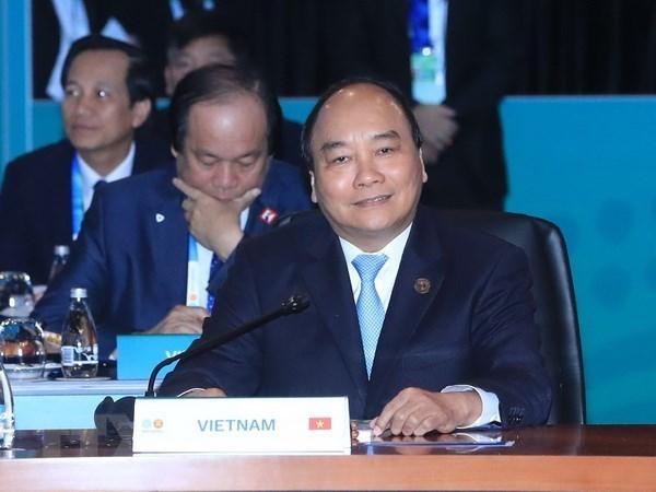 Sommet special ASEAN-Australie : le PM Nguyen Xuan Phuc apprecie les belles relations bilaterales hinh anh 1