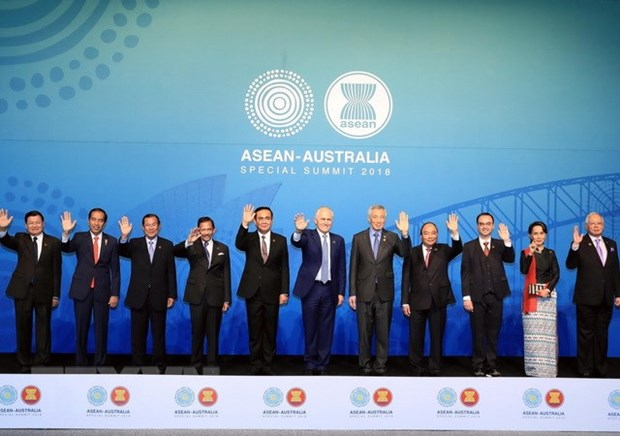 Le PM Nguyen Xuan Phuc participe a des activites du Sommet special ASEAN-Australie hinh anh 1