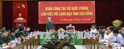 Cao Bang se prepare a l'echange de defense frontalier Vietnam-Chine hinh anh 1