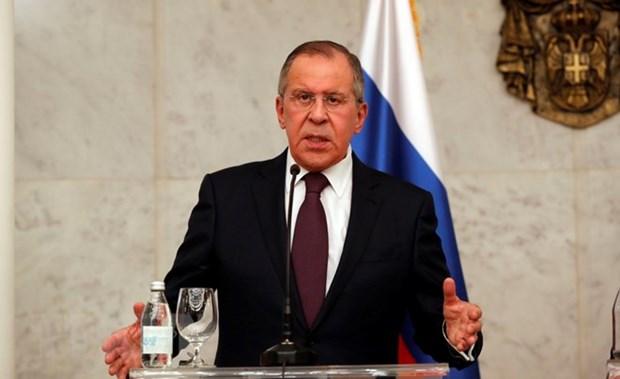 Le chef de la diplomatie russe attendu au Vietnam hinh anh 1