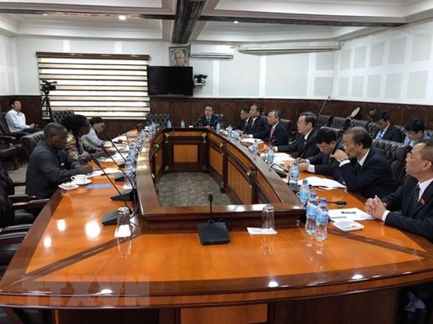 Le vice-president de l'AN Phung Quoc Hien en visite de travail en Tanzanie hinh anh 1