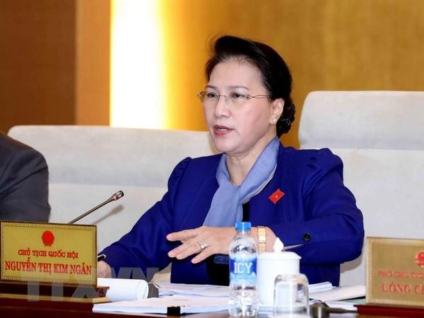 La presidente de l'AN du Vietnam est arrivee en Suisse pour l'UIP 138 hinh anh 1