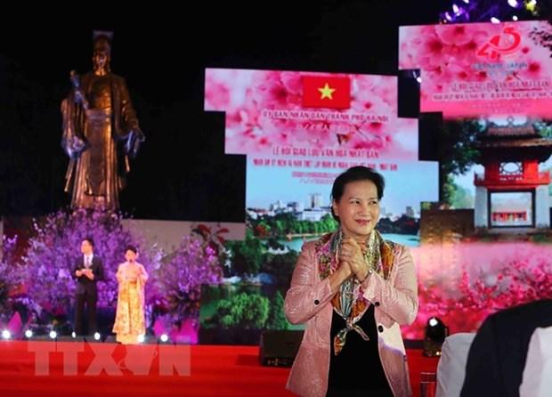 La Fete d'echanges culturels Vietnam-Japon a Hanoi hinh anh 1