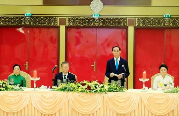 Declaration commune Vietnam-Republique de Coree hinh anh 1