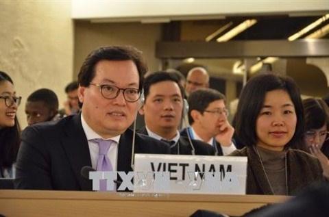 Cloture de la 37e session du Conseil des droits de l'homme de l'ONU hinh anh 2