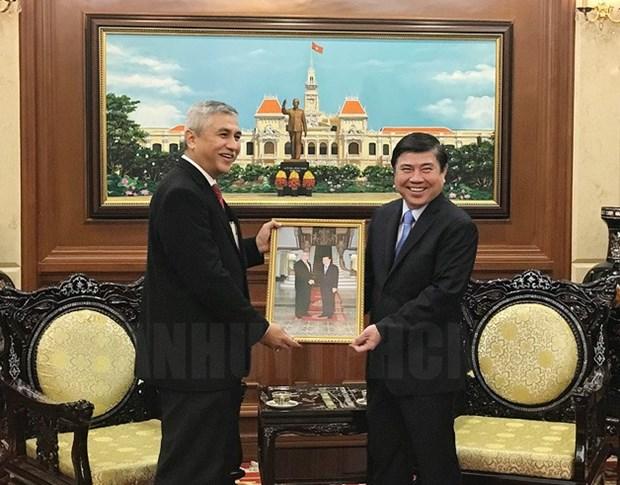 Ho Chi Minh-Ville continuera de promouvoir ses relations avec l'Indonesie hinh anh 1