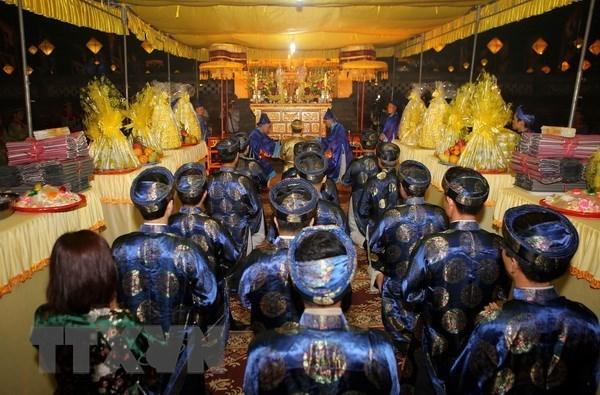La ceremonie du culte Xa Tac 2018 a Thua Thien-Hue hinh anh 1