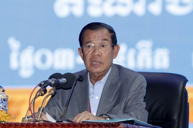 Le Premier ministre cambodgien Samdech Techo Hun Sen au Vietnam pour deux sommets hinh anh 1