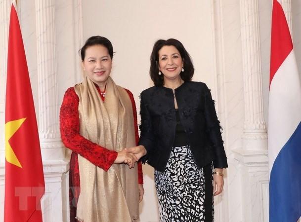 Entretien Nguyen Thi Kim Ngan et Khadija Arib hinh anh 1