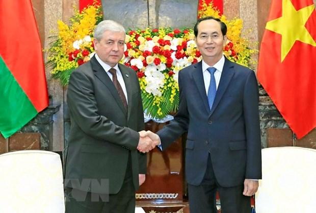 Le Vietnam souhaite accueillir davantage d'investissements bielorusses hinh anh 1