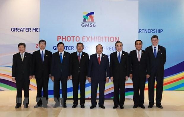 Exposition sur la cooperation de la sous-region du Grand Mekong hinh anh 1