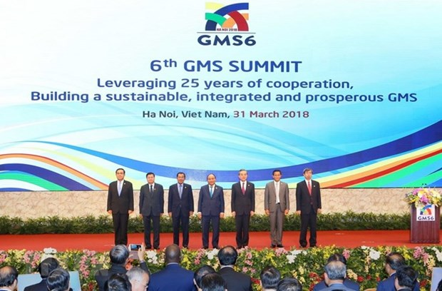 Declaration commune du 6e Sommet de la sous-region du Grand Mekong hinh anh 1