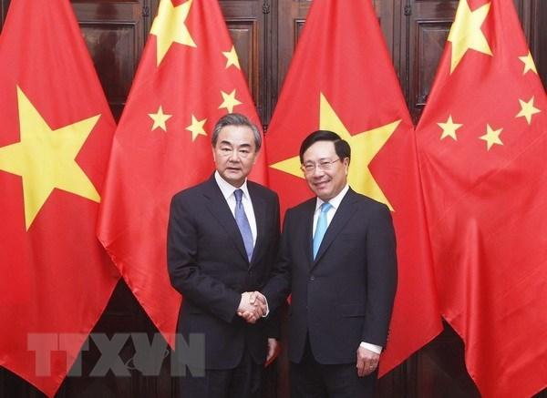 Vietnam-Chine : entretien entre les ministres des Affaires etrangeres hinh anh 1