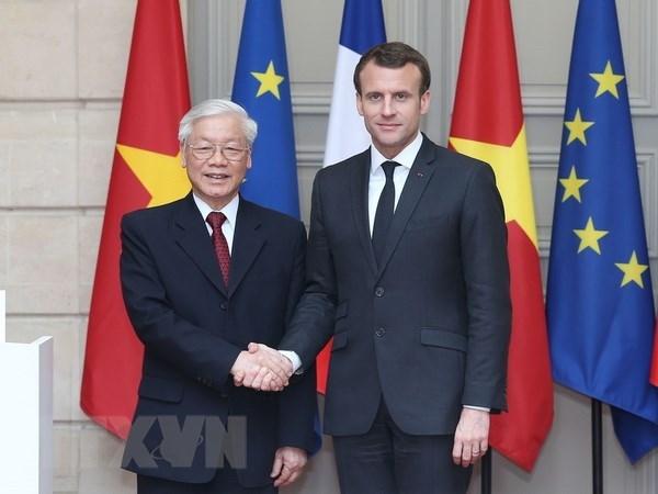 Des ministres soulignent la tournee en France et a Cuba du leader du PCV hinh anh 1