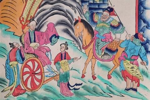 S-River et son premier livre sur les estampes populaires de Hang Trong hinh anh 3