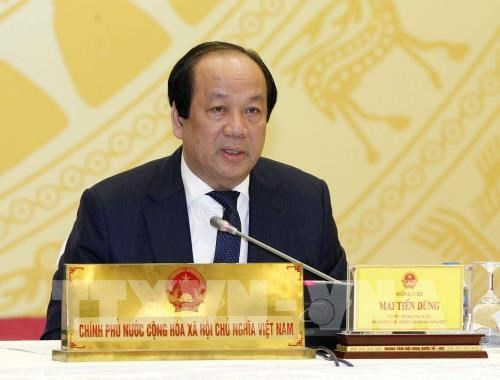 Des dossiers chauds au menu de la conference de presse du gouvernement hinh anh 1