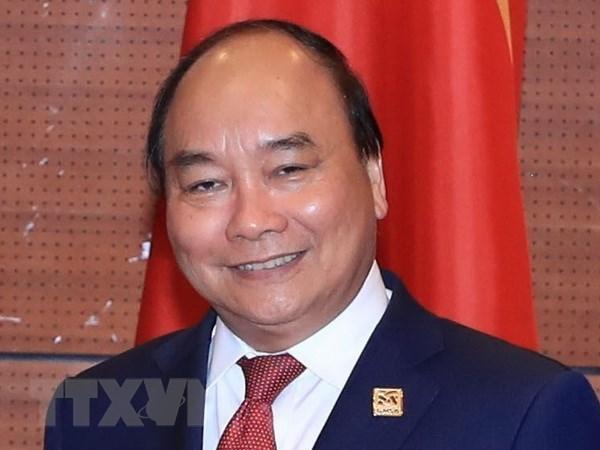 Le PM Nguyen Xuan Phuc part pour le 3e Sommet de la Commission du Mekong a Siem Reap hinh anh 1
