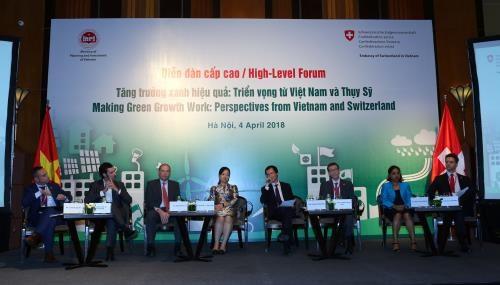 Cooperation Vietnam-Suisse pour la croissance verte hinh anh 1