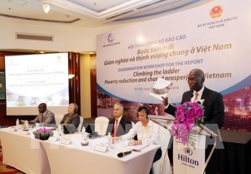 Publication d'un rapport de la BM sur la pauvrete au Vietnam hinh anh 1