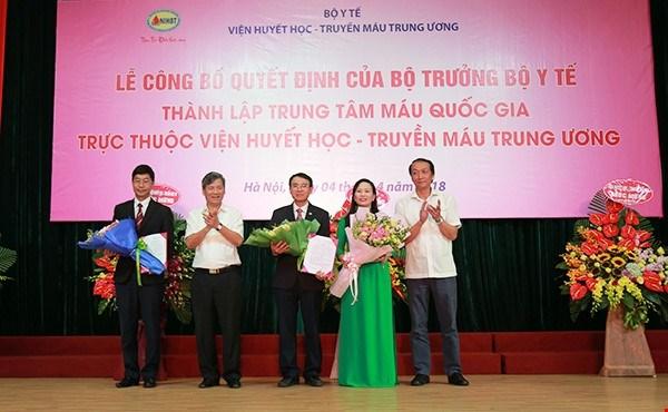 Fondation d'un centre national de sang hinh anh 1