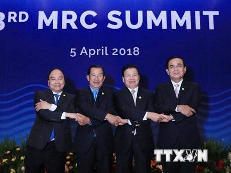 La presence du PM au sommet confirme l'engagement du Vietnam envers la cooperation de la MRC hinh anh 1