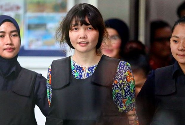L'ambassade du Vietnam en Malaisie defend les droits et interets legitimes de Doan Thi Huong hinh anh 1