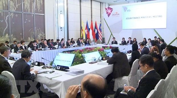 Ouverture de la conference ministerielle des Finances de l'ASEAN hinh anh 1