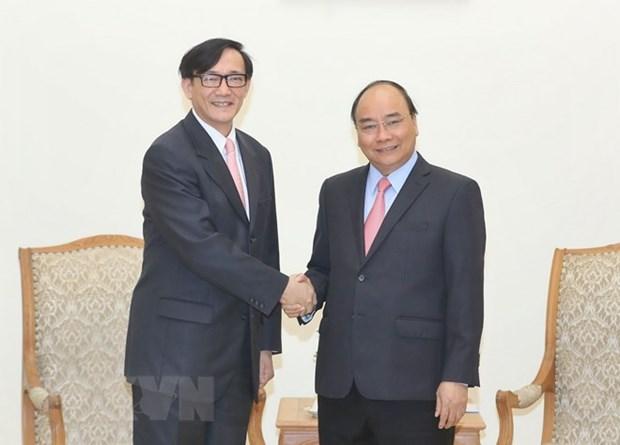 Le PM Nguyen Xuan Phuc recoit l'ambassadeur de Thailande hinh anh 1