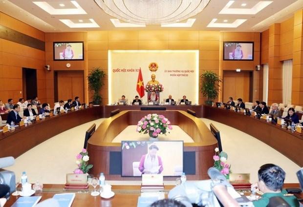 Le Comite permanent de l'Assemblee nationale ouvre sa 23e session hinh anh 1