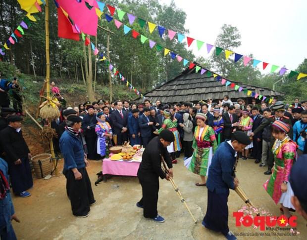 Celebration du 10e anniversaire de la Journee culturelle des ethnies vietnamiennes hinh anh 1