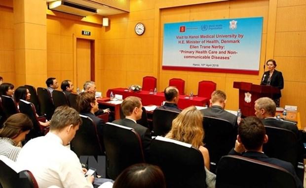 Colloque Vietnam-Danemark sur la prevention et la lutte contre les maladies non transmissibles hinh anh 1