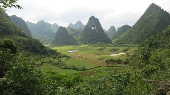 Le parc geologique de Cao Bang reconnu par l'UNESCO comme un geoparc mondial hinh anh 1
