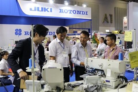 De nombreuses nouvelles technologies et equipements a Saigontex 2018 hinh anh 1