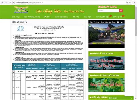 Culte en ligne, un service original a l'occasion de la fete Thanh Minh hinh anh 3