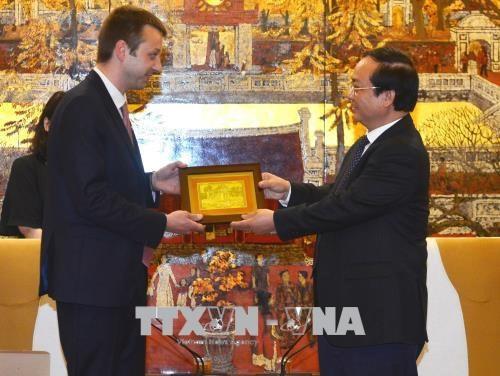 Hanoi et Edesse renforcent leur cooperation et les investissements hinh anh 1