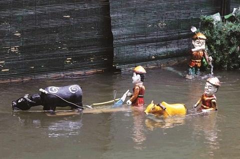 National Geographic vous presente les marionnettes sur l'eau vietnamiennes hinh anh 1