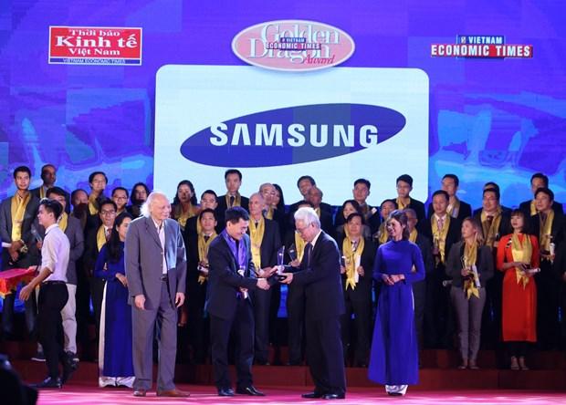 Remise du prix Dragon d'or aux meilleures entreprises au Vietnam hinh anh 1