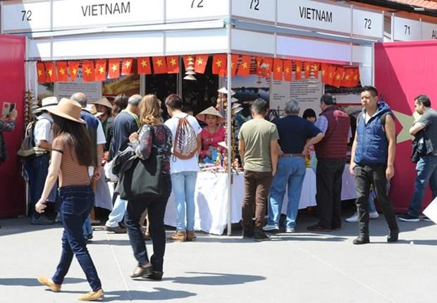 Le Vietnam a la 10e Foire des cultures amies a Mexico hinh anh 1