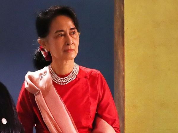 La conseillere d'Etat et ministre birman des AE effectuera une visite officielle au Vietnam hinh anh 1