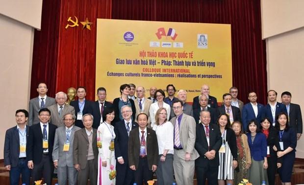 Echanges culturels franco-vietnamiens: Realisations et perspectives hinh anh 3