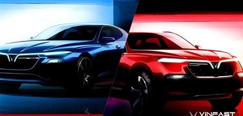 Vinfast a depose deux modeles de voitures aupres de l'EUIPO hinh anh 1