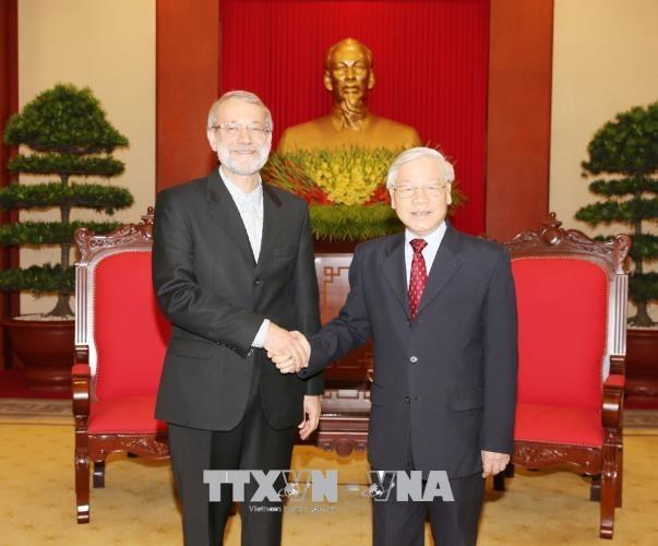 Le Vietnam souhaite stimuler les relations d'amitie traditionnelle avec l'Iran hinh anh 1