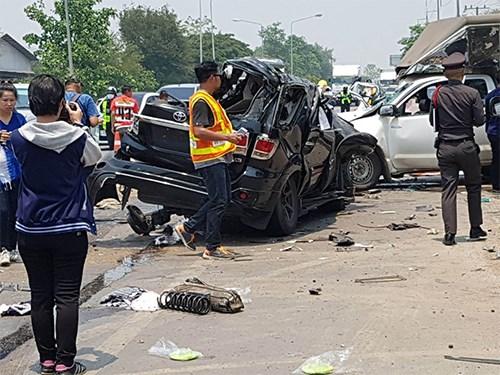 Thailande : les accidents routiers en hausse pendant la fete Songkran hinh anh 1