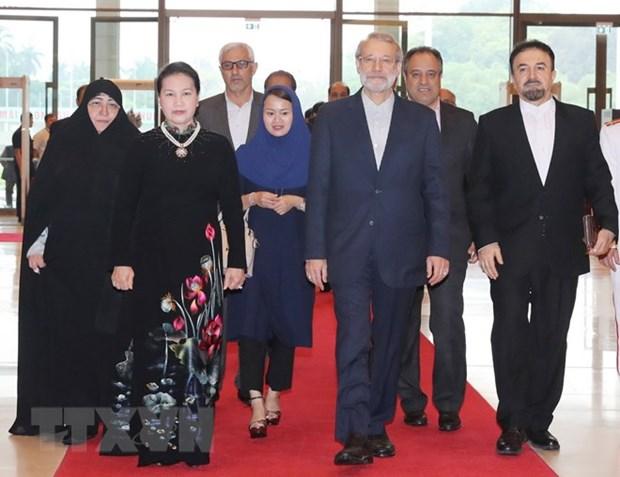 Le president de l'Assemblee consultative islamique d'Iran termine sa visite au Vietnam hinh anh 1